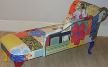 Funky Flowers Chaise